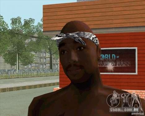 2Pac para GTA San Andreas segunda tela
