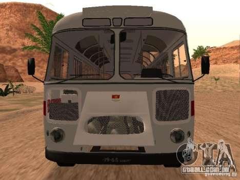 SULCO 672.60 para GTA San Andreas esquerda vista