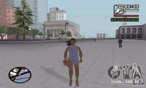 Reencarnação em um morador da cidade para GTA San Andreas quinto tela