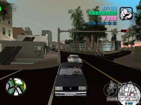 2105 Vaz para GTA Vice City deixou vista