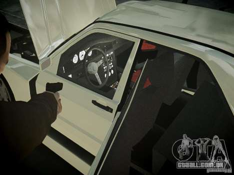 Mercedes 190E Evo2 para GTA 4 vista interior