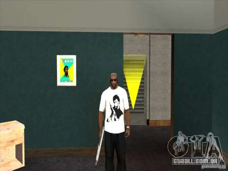 T-shirt do Chuck Norris para GTA San Andreas