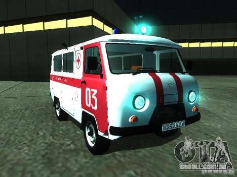 UAZ 3962 ambulância para GTA San Andreas