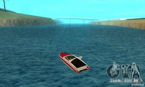 GTAIV Tropic para GTA San Andreas traseira esquerda vista