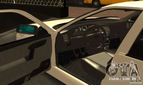 VAZ-2112 carro Tuning para vista lateral GTA San Andreas