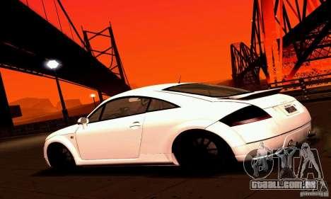 Audi TT Light Tuning para GTA San Andreas esquerda vista