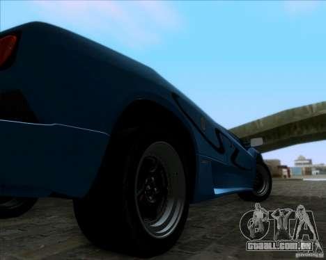 Lamborghini Diablo SV V1.0 para GTA San Andreas traseira esquerda vista