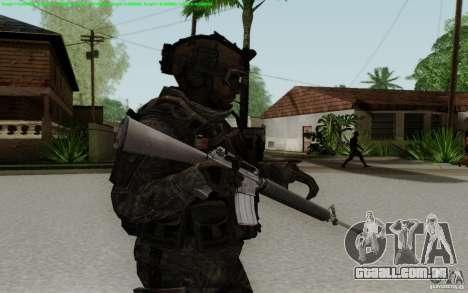 M16A2 para GTA San Andreas terceira tela