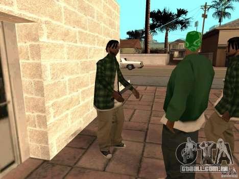 Pak versão doméstica de armas 3 para GTA San Andreas sétima tela