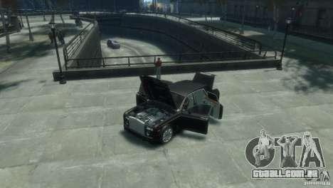 Rolls-Royce Phantom para GTA 4 vista interior