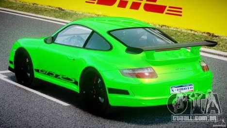 Porsche 997 GT3 RS para GTA 4 vista direita
