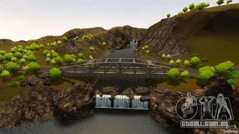 Countryside Mountains V para GTA 4 quinto tela