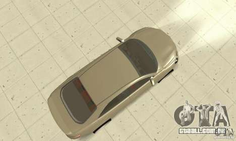 Toyota Camry Tuning 2010 para GTA San Andreas vista direita