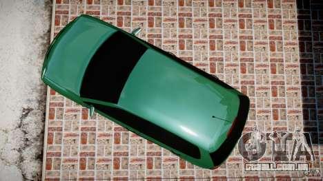 Volkswagen Polo 2.0 2005 para GTA 4 vista direita
