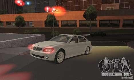 Luzes vermelhas para GTA San Andreas segunda tela
