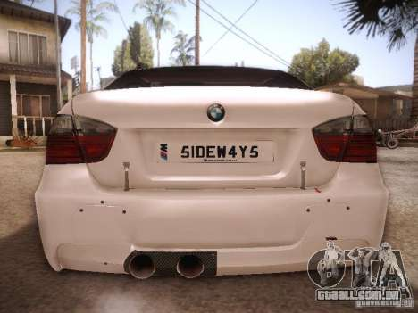 BMW 320SI Drift para GTA San Andreas vista direita