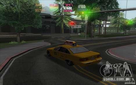 Radio Hud IV para GTA San Andreas segunda tela