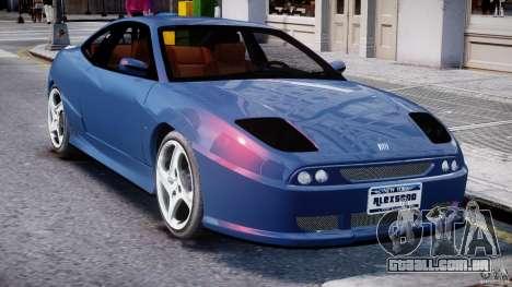 Fiat Coupe 2000 para GTA 4 vista inferior