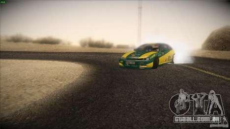 Nissan S14 para GTA San Andreas vista traseira