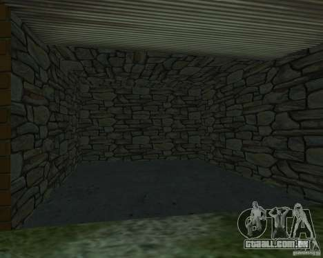CJâ casa nova para GTA San Andreas sétima tela