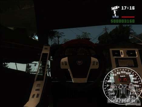 Cadillac XLR para vista lateral GTA San Andreas