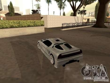 Infernus GT para GTA San Andreas vista direita