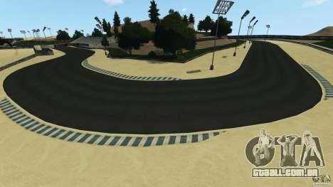 Laguna Seca [HD] Retexture para GTA 4 oitavo tela