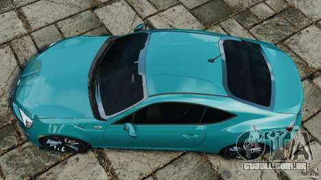 Scion FR-S para GTA 4 vista direita