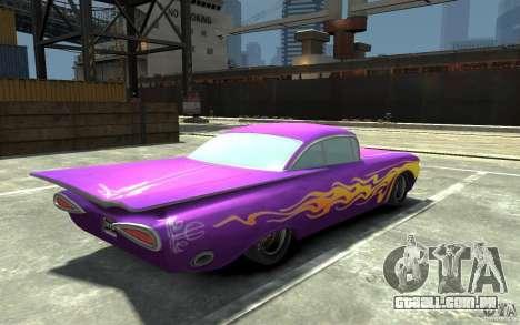 Raymone de carros Mater-National para GTA 4 vista direita