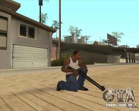 Espingarda automática para GTA San Andreas