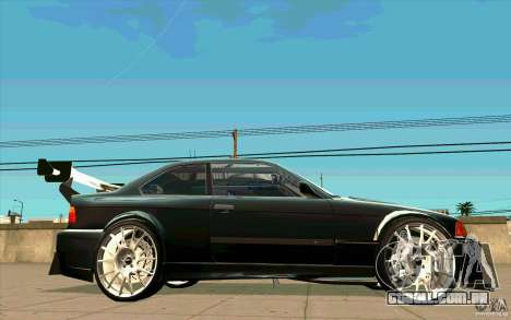 NFS:MW Wheel Pack para GTA San Andreas quinto tela