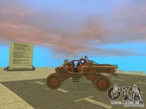 Wingy Dinghy v1.1 para GTA San Andreas traseira esquerda vista