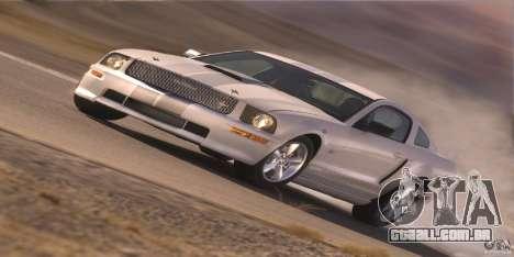 Telas de carregamento, no estilo do Ford Mustang para GTA San Andreas nono tela