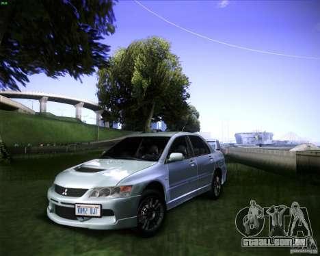 Mitsubishi Lancer Evolution VIII MR para GTA San Andreas