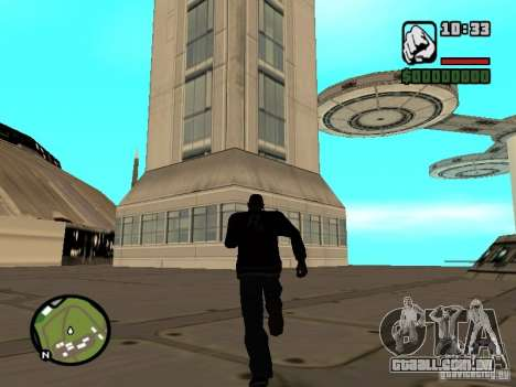 Casa 4 cadetes do jogo Star Wars para GTA San Andreas quinto tela