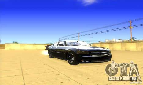 Dodge Charger From Fast Five para GTA San Andreas