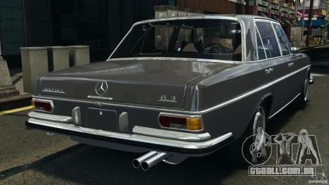 Mercedes-Benz 300Sel 1971 v1.0 para GTA 4 traseira esquerda vista