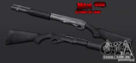 M870 Black para GTA San Andreas segunda tela