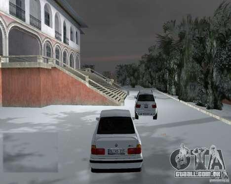 BMW M5 E34 1990 para GTA Vice City vista direita