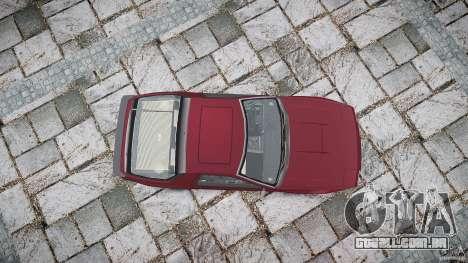 Mazda RX7 FC3S para GTA 4 vista lateral