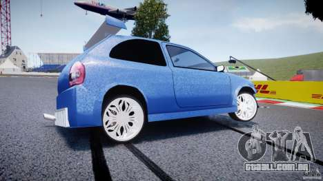 Chevrolet Corsa Extreme Revolution para GTA 4 esquerda vista