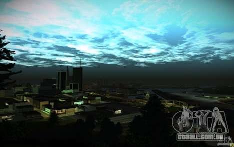 Timecyc para GTA San Andreas nono tela
