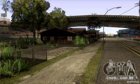 Grove Street Retextured para GTA San Andreas terceira tela