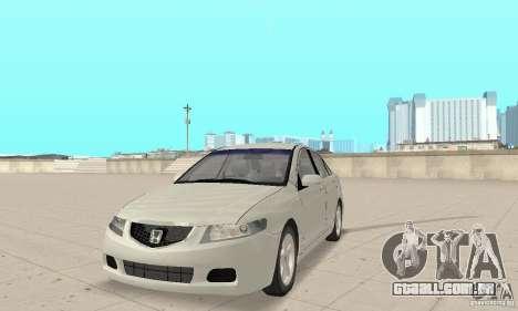 Honda Accord Comfort 2003 para GTA San Andreas