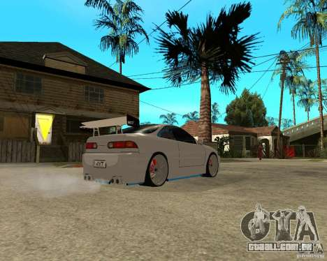 Honda Integra TUNING para GTA San Andreas vista traseira