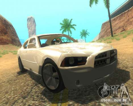 Dodge Charger 2011 para GTA San Andreas interior