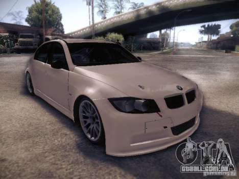 BMW 320SI Drift para vista lateral GTA San Andreas