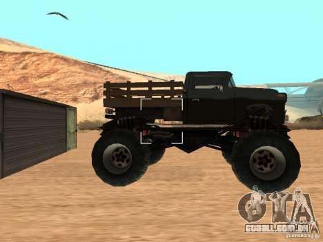 Walton Monster para GTA San Andreas esquerda vista