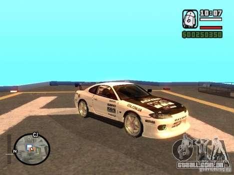 NISSAN Silvia S15 RFteam drifters para GTA San Andreas vista direita