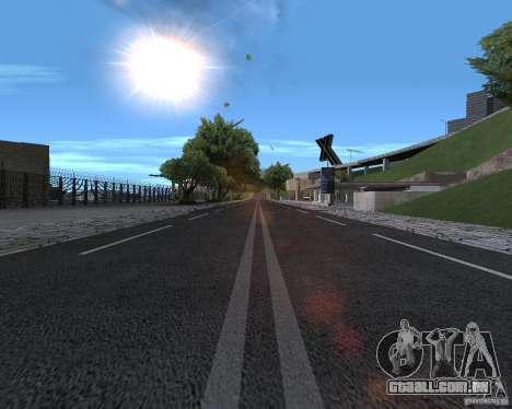 Novas estradas para GTA San Andreas segunda tela